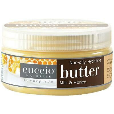 Cuccio Body Butter Milk and Honey 8 Oz by