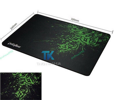 for Razer Gaming Mice Pad Anti-slip Game Mouse Mat Pad Size M Size L for option