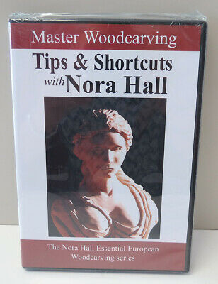 Master Woodcarving Tips & Shortcuts with Nora Hall DVD - NEW and Sealed