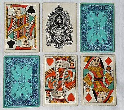 Hunts Manufacturing Co Ltd Hunt Playing Cards X52 Wide + Square  & No Indices
