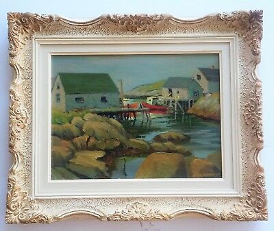 """Listed Canadian Artist - Bruce Heggtveit - Oil / Board - 12"""" x 16"""". Signed."""