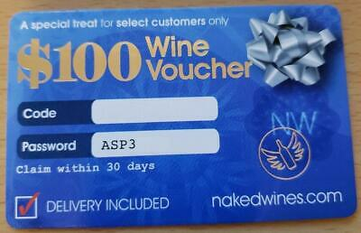 Nakedwines.com Wine Voucher