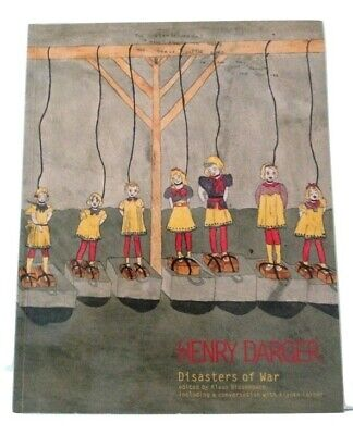 Disasters of War by Henry Darger outsider art 20th century painting