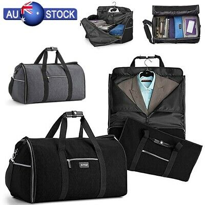 Travel Storage Bag Luggage Unisex Carry-on Hand Shoulder Garment Duffel Bag New