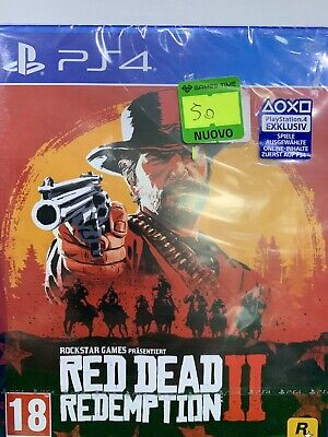 red dead redemption 2 ps4 Nuovo