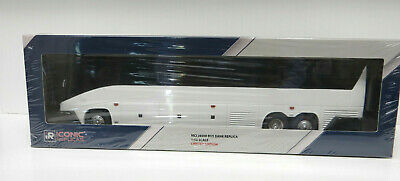 """New Mold 11"""" MCI """"J"""" Untrimmed Plastic Bank Bus Sealed in plastic from factory"""