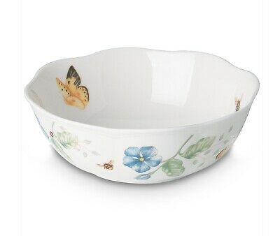 Set Of 2 (two) Lenox Butterfly Meadow All Purpose Bowls