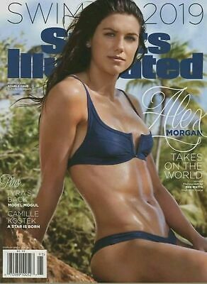Alex Morgan Cover Sports Illustrated Swimsuit 2019- New
