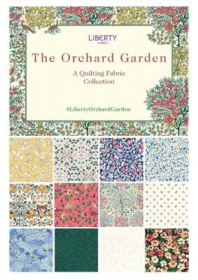 LIBERTY of London The Orchard Garden - 100% Cotton Fabric for quilting & crafts