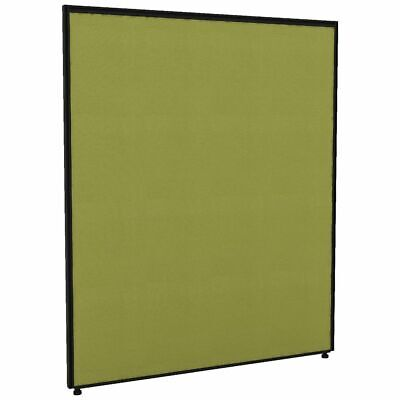Partition Screen 1200 x 1400 Black Frame Green Fabric