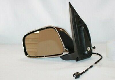 New Pair Door Mirrors Fits Nissan Frontier 2005-10 Power Non-Heated 3 Head 3 Pin