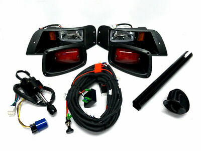 Deluxe Light Kit for EZGO TXT Golf Carts 2013 and Older