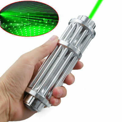 Military High Power 50 Miles Green Laser Pointer Lazer 5mW Pen 532nm Visible