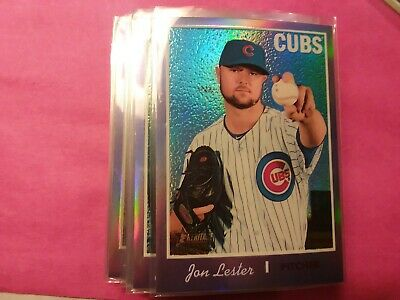 2019 Topps Heritage Chrome Purple High Number  *** You Pick***