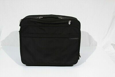 "Briggs & Riley 18"" Executive Rolling Carry On Travel Bag"