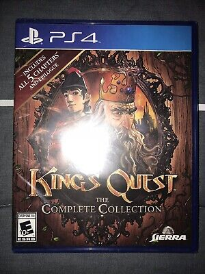 King's Quest: The Complete Collection PS4 Playstation 4 Brand New Sealed