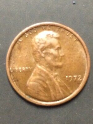 1972 P Lincoln Cent DDO