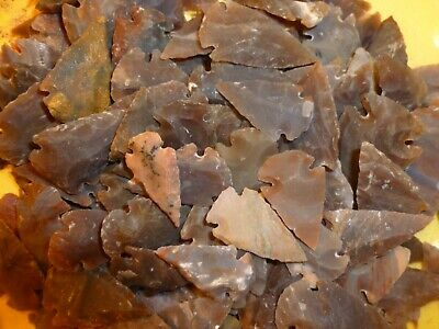 Flint  Stone Arrowhead   Assorted   1FSAA