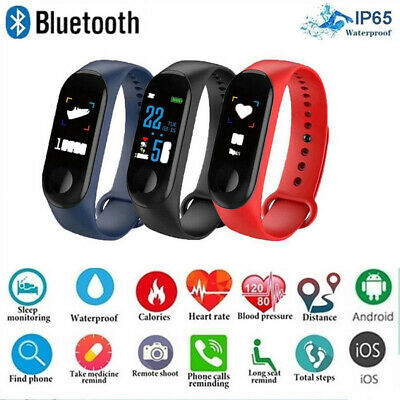 IP67 Waterproof Smart Band Smart Watch Bracelet Fitness Activity Tracker NEW US