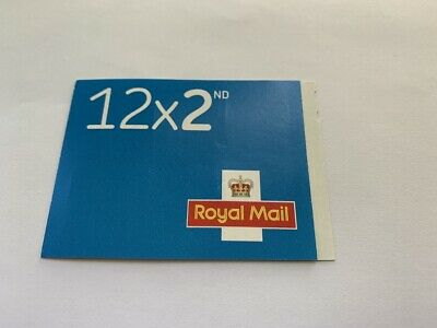 2nd Class Stamps x 12 Pack - (Postage Stamp Book) Self Adhesive Brand New
