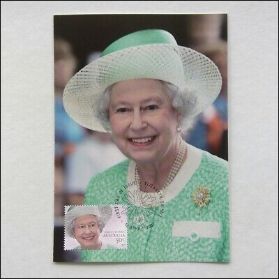 Queen's Birthday 18 Apr 2007 Australia Post Postcard (AP2)