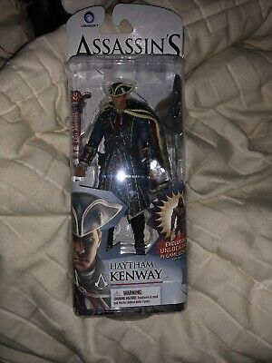 Assassin/'s Creed Edward Haytham Connor Hunter 3D Statue Model Action Figures Toy