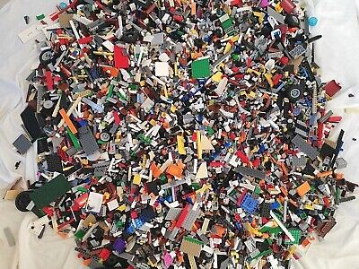 1 KG LEGO x850pc's MASTER BUILDER PACK(S) BULK LOT! - MANY THEMES! - HAND SORTED