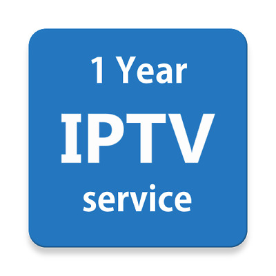 1 Year fast IPTV subscription USA CANADA EUR ARABIC Smart TV MAG box Android Box