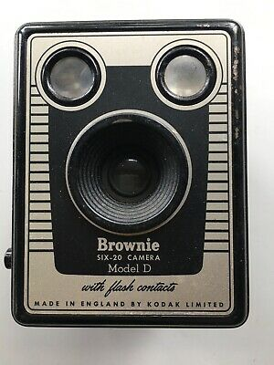 Vintage Kodak Camera SIX-20 Brownie D  by KODAK