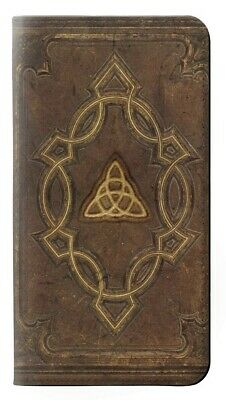 W3219 Spell Book Cover Flip Hulle Tasche Klappetui Smartphone