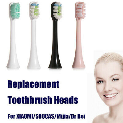 Replacement Toothbrush Heads Suitable to SOOCAS X3 SOOCARE Electric Toothbrush