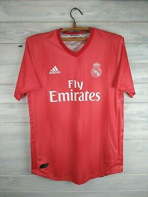 7a0564340b3 Real Madrid jersey large Parley 2018 2019 away shirt DP5441 soccer Adidas