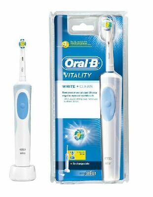 Oral-B Vitality White & Clean Rechargeable Electric Toothbrush│2Minute Timer│NEW