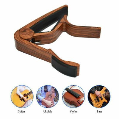 Electric Tune Clamp Key Trigger Capo For Acoustic / Classic Guitar Quick Change
