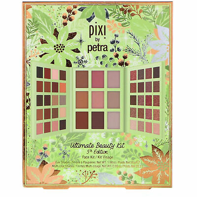 Pixi Ultimate Beauty Kit, 5th Edition, Face Kit, Heavenly Hues, Matte & Glow