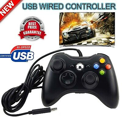 2019 USB Wired Xbox 360 Controller Game Pad For Microsoft Xbox 360 PC Windows