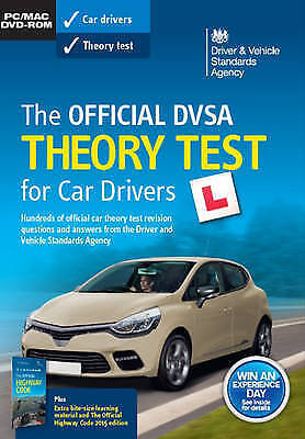 Official DVSA Theory Test for Car Drivers 2018 DVD ROM NEW SEALED DRIVING TEST