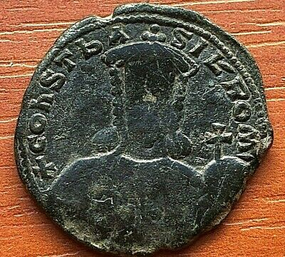 Constantine VII 913-959 AD AE Follis Constantinople mint Ancient Byzantine Coin