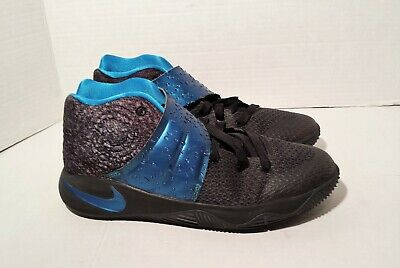 dce026906459 NIKE Boys KYRIE 2 GS WET II Basketball Shoes - Size 6.5Y Blue Black 826673