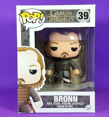 Funko Pop BRONN #39 Game of Thrones VAULTED MINT NEW Never Opened Retired RARE