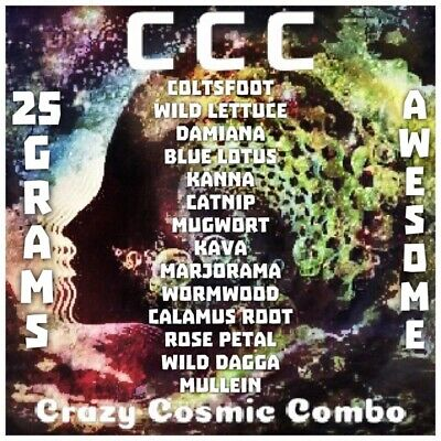 Crazy Cosmic Combo [25 Grams] High Quality Herb | Herbal Blend
