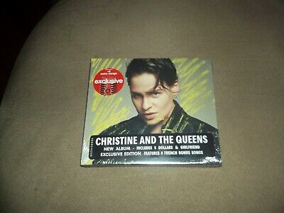 CHRISTINE AND THE QUEENS Chris LIMITED EDITION EXPANDED TARGET CD 4 BONUS TRACKS