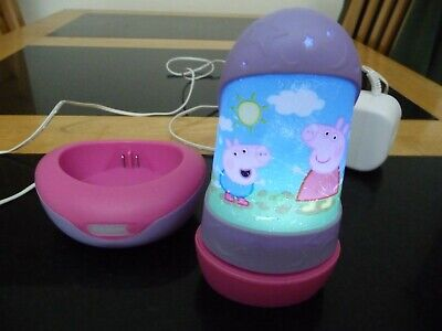 Peppa Pig Rechargeable Go Glow Night Light Torch Lot A 3 50
