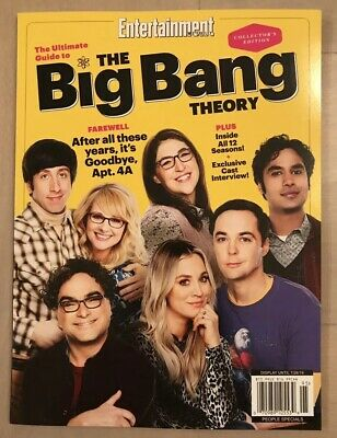 Entertainment Weekly Big Bang Theory Ultimate Guide Special 2019 FREE SHIPPING J