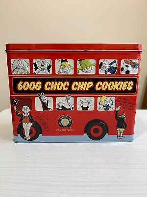 HUNTLEY AND PALMERS  BEANO BUS TIN Biscuit