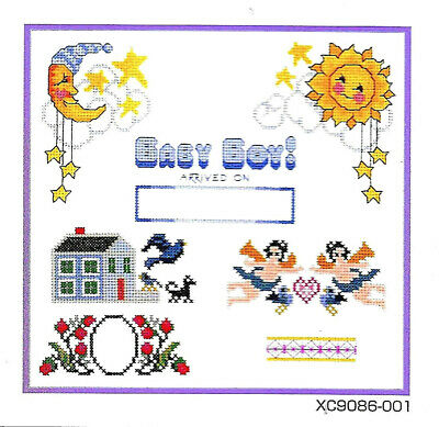 CROSS STITCH #72 Embroidery Memory Card - Brother/Baby Lock/B Deco .pes