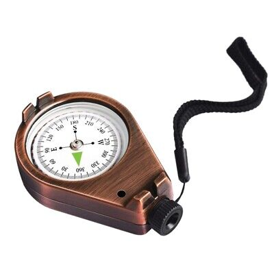 Compass Classic Accurate Waterproof Shakeproof for Hiking Camping Motoring B 4G6