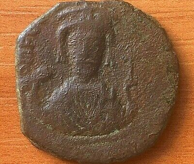 "Phocas 602-610AD AE Follis Large ""XXXX"" Nicomedia mint Ancient Byzantine Coin"