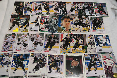 34 Nhl Dallas Stars All Different Ice Hockey Cards Lot (No Doubles)