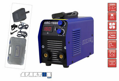 SPARTUS® ARC 160E Portable MMA ARC Welder IGBT Inverter with SUITCASE Arc Force